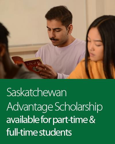 Saskatchewan Advantage Scholarship