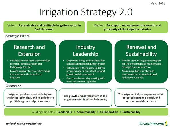 Irrigation Strategy Infographic