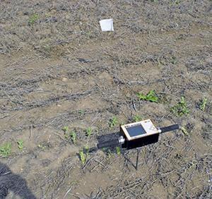 Soil resistance meter