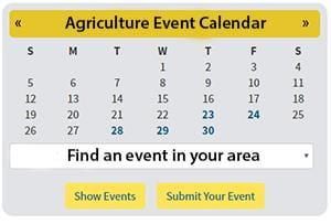 Agriculture Event Calendar