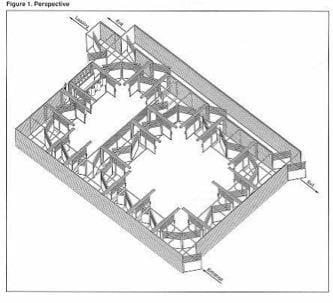 Drawing of an elk handling system