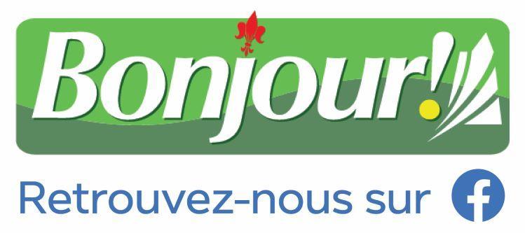 Bonjour sur Facebook logo
