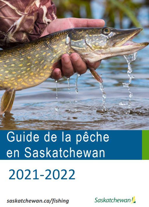 Guide de la pêche en Saskatchewan 2021-2022 image d'un main qui tient un poisson