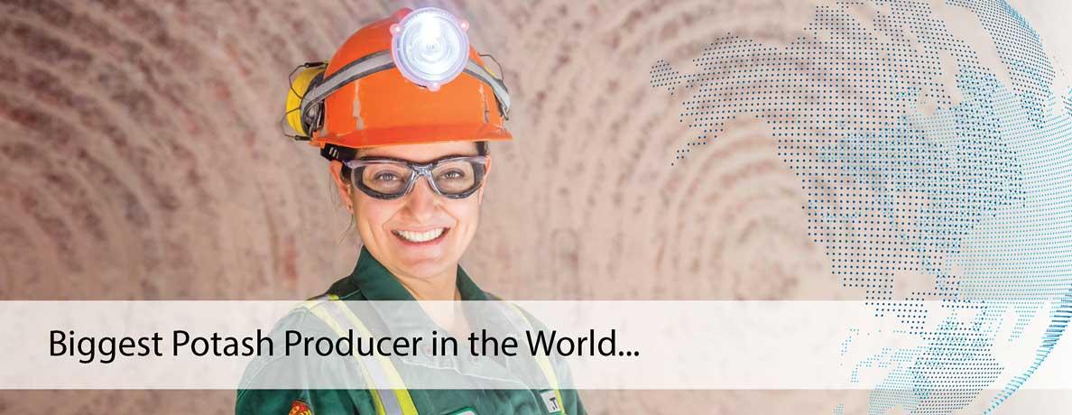 Biggest Potash Producer in the World