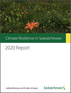 climate change 2020 report