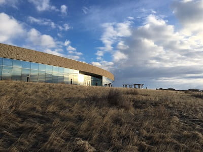 T. rex Discovery Centre in Eastend SK