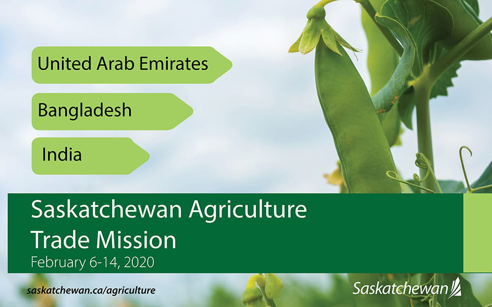 Agriculture Trade Mission, February 6-14, 2020