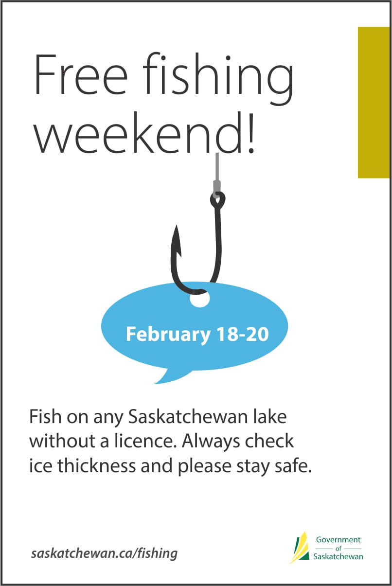 Celebrate Family Day Weekend with Free Fishing, February 18 to 20