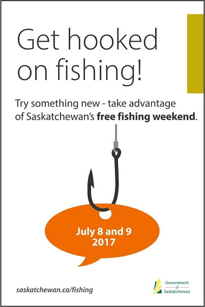 No License Needed on Saskatchewan's Free Fishing Weekend
