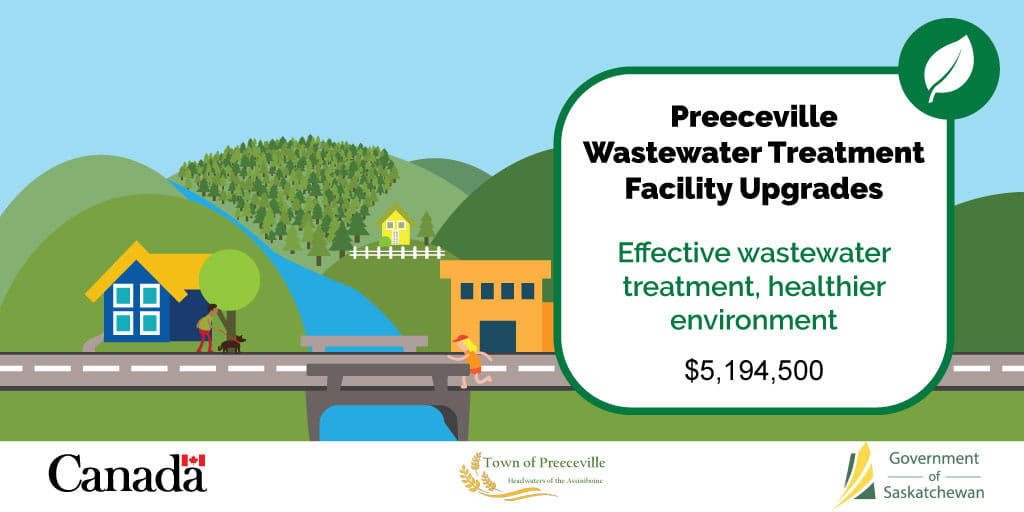 Preeceville Wastewater Treatment Facility Upgrades To Protect