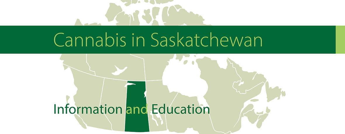 Cannabis in Saskatchewan - Map of Canada